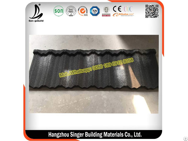 Sgb Classic Stone Coated Steel Roofing Tiles