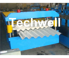Tw27 195 780 Metal Roofing Cold Roll Forming Machine