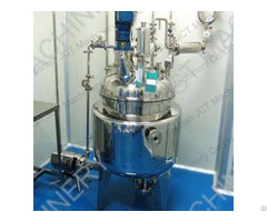 Jct Stainless Steel Batch Reactors In Chemical Industry