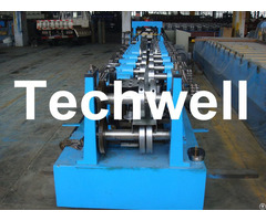 Automatic Control C Z Purlin Roll Forming Machine With Auto Punching And Cutting