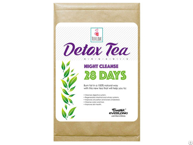 100% Organic Herbal Detox Tea Slimming Weight Loss Night Cleanse 14 Day