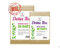 100% Organic Herbal Detox Tea Slimming Weight Loss 28 Day Program
