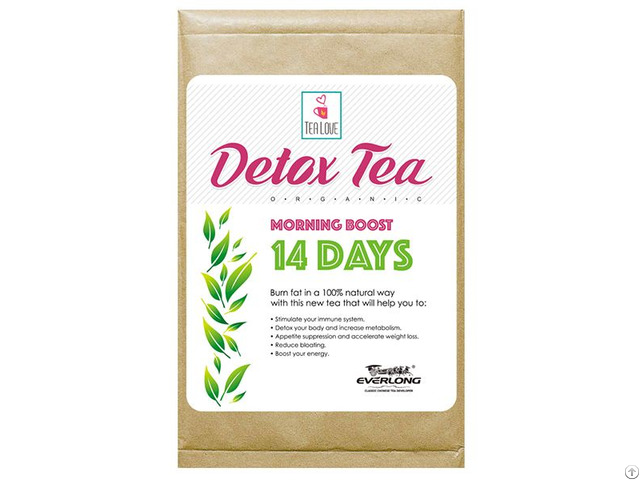 100% Organic Herbal Detox Tea Slimming Weight Loss Morning Boost 14 Day