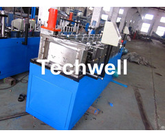 Light Weight Angle Steel Roll Forming Machine With Continuous Punching System