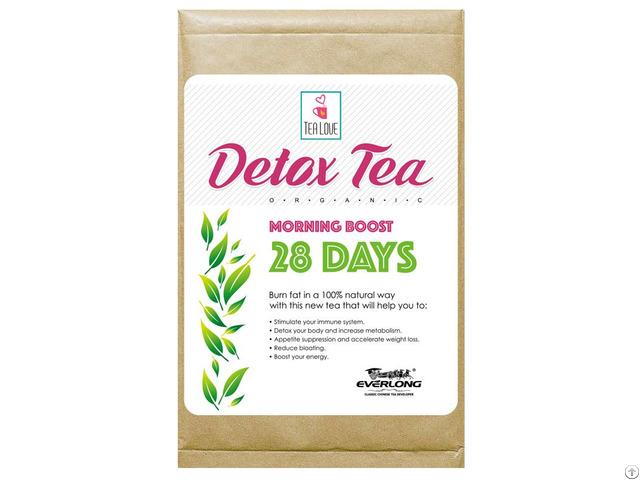 100% Organic Herbal Detox Tea Slimming Weight Loss Morning Boost 28 Day