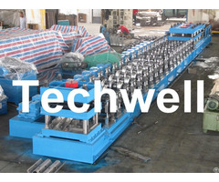 W Beam Guardrail Forming Machine For Crash Barrier
