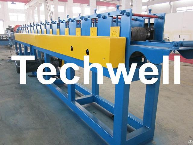 Manual Decoiler Roller Shutter Door Slat Roll Forming Machine