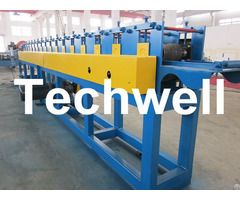 Manual Decoiler Roller Shutter Door Slat Roll Forming Machine