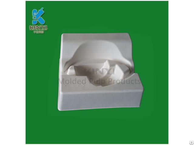 Anti Vibration Fiber Pulp Earphone Paper Box Packaging