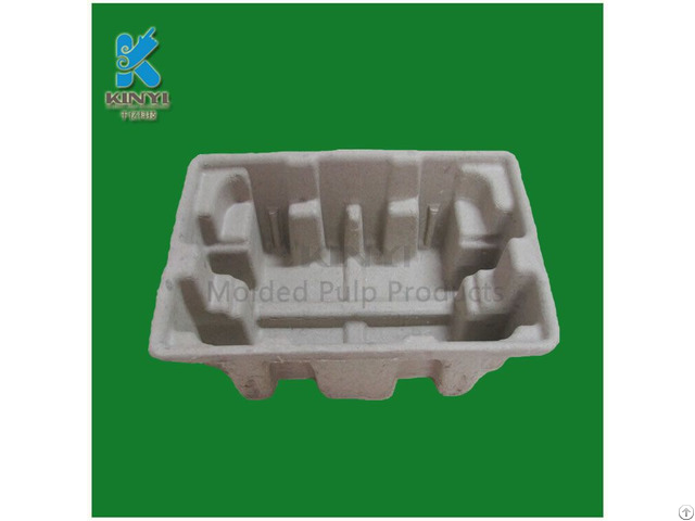 Paper Pulp Mold Process Electronic Packaging Tray Eco Friendly