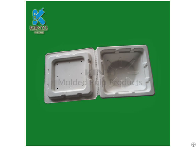 Newest Electronic Packaging Box Bagasse Pulp Made Environmental And Biodegradable