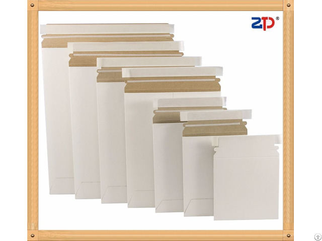 Stay Flat Paper Adhesive Mailers