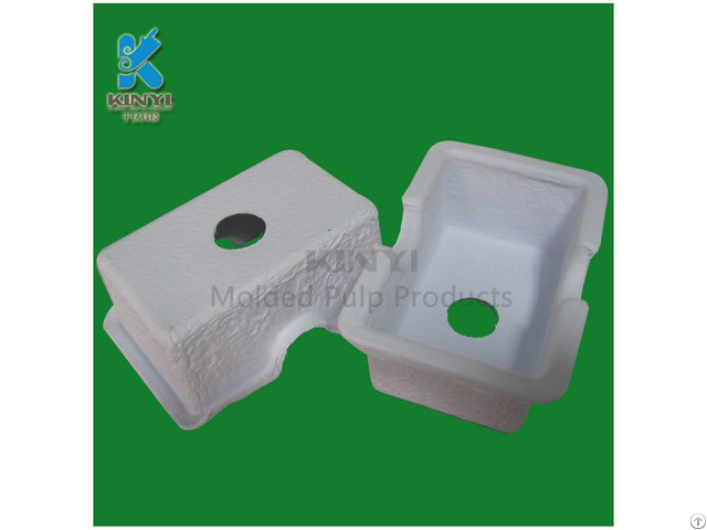 100%biodegradable Paper Pulp Mold High Quality Electronic Packaging Tray