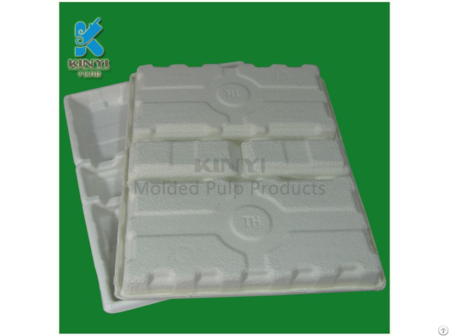 White Color Molded Tray Electronic Protective Packaging Box