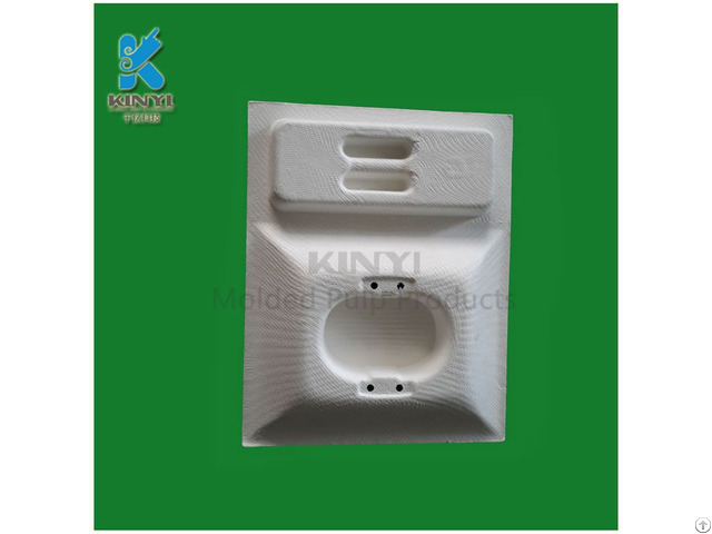 Primeval Bagasse Pulp Tray Electronic Inner Packaging