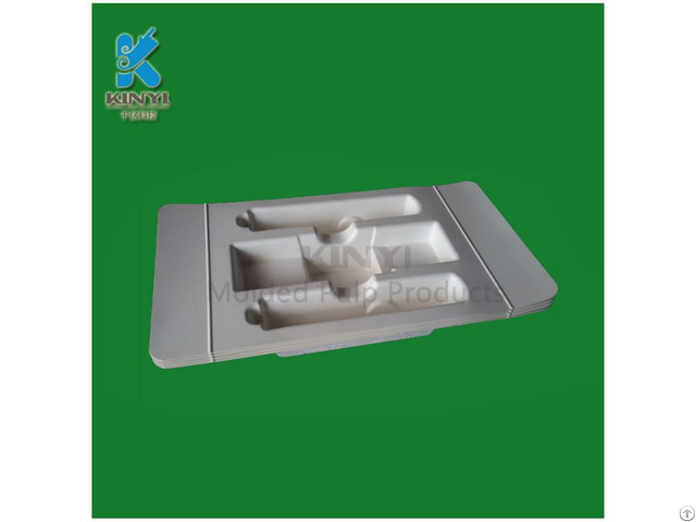 Highly Qualified Paper Pulp Mold Packaging Tray For Electronic