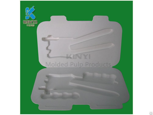 Molding Pulp Tray For Electronic Packaging Box Container
