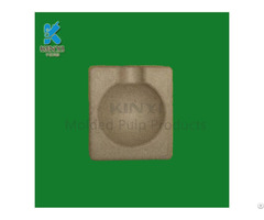Biodegradable Paper Pulp Soap Packaging Box For Sale
