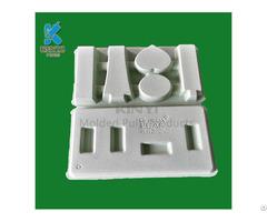 Custom Eco Friendly Bagasse Paper Cosmetic Packaging Box