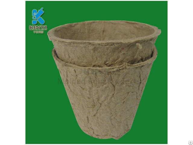 Biodegradable Recycled Paper Plant Pots Wholesale In Dongguan