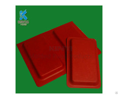 Bio Products Environmental Electronic Packaging Inserts Paper Pulp Molded