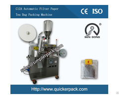 Automatic Filter Paper Tea Bag Packing Machine With Thread And Tag