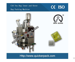 Automatic Inner And Outer Tea Bag Packing Machine