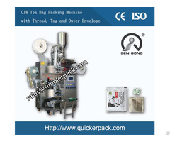 Multi Function Inner And Outer Black Tea Bag Packing Machine