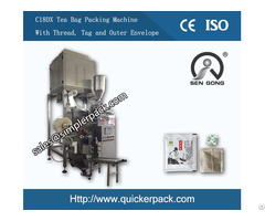 Inner And Outer Tea Bag Packing Machine With 4 Electric Scale