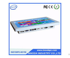 "Fanless 15"" Aluminum Shell Industrial Computer With Com Port"