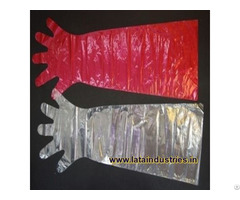 Plastic Veterinary Gloves