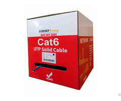 1000ft Cat6 Plenum Cmp Cable