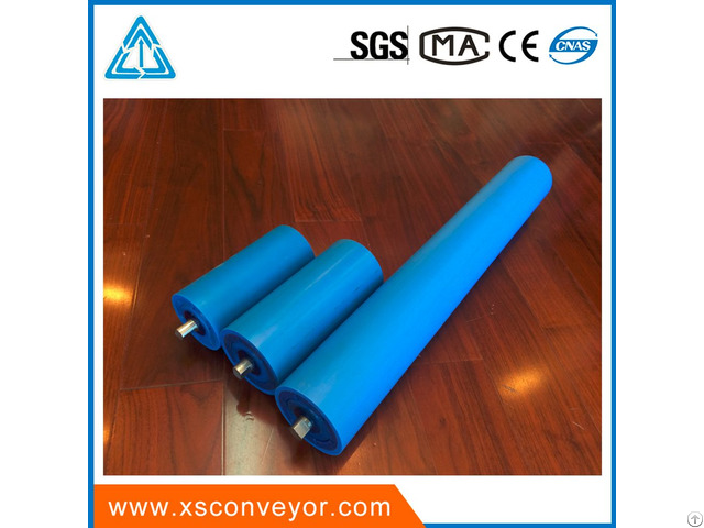 Material Handling Equipment Parts Plastic Tube Hdpe Pipe Idler Roller
