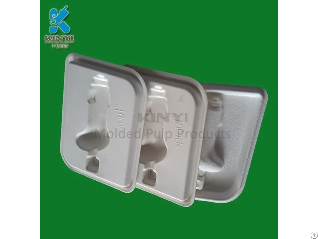 Eco Friendly Sugarcane Bagasse Pulp Battery Tray