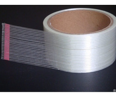Transparent 0 14mm Strong Bonding High Tensile Strength Mono Directional Filament Strapping Tape