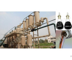 Rubber Oil To Diesel Refining Machine