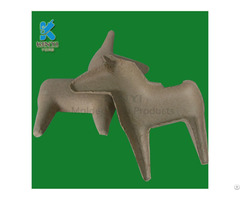 Customized Waste Paper Molded Pulp Mache Art And Crafts