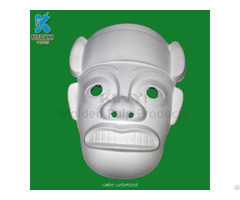 Wholesale Sugar Cane Paper Pulp Mache White Masks