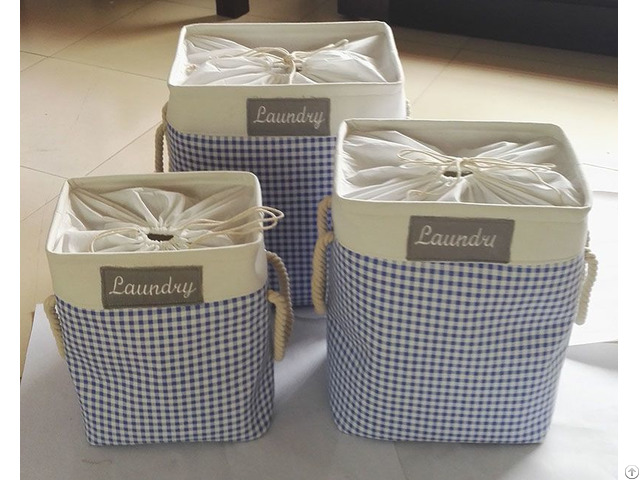 Sell Cotton Fabric Laundry Bag 4