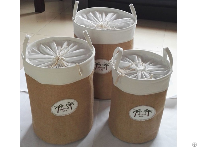 Sell Cotton Fabric Laundry Bag 6