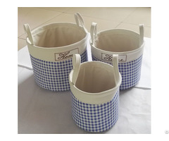 Sell Cotton Fabric Laundry Bag 8