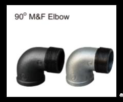 Excellent Factory Supply M F Galvanizetion 90 Elbow