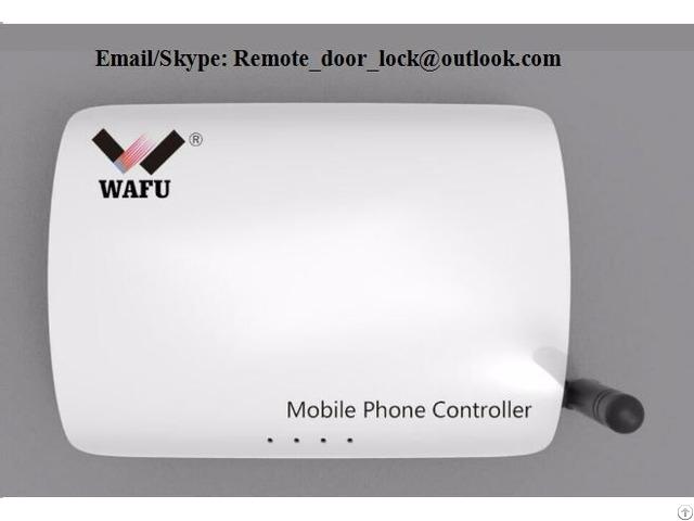 Telephone Controller Of Wafu Smart Remote Lock