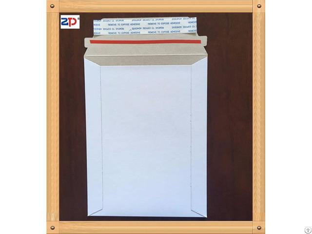 White Cardboard Self Seal Mailers Envelope