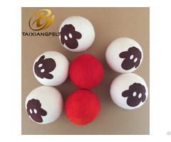 100% New Zealand Wool Xl Size Dryer Ball