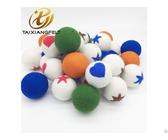 Handmade 9 Inch 6 Pack 100% New Zealnd Merino Laundry Wool Dryer Balls