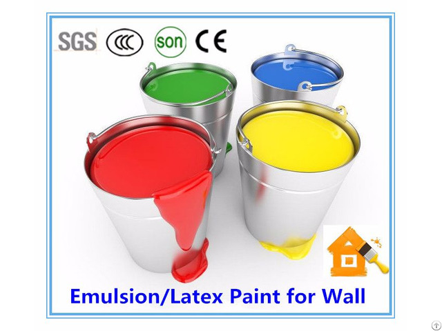 Mesiden Acrylic Water Based Latex Emulsion Paint