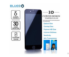 Blueo American Corning 3d Curved Tempered Glass Screen Protector For Iphone
