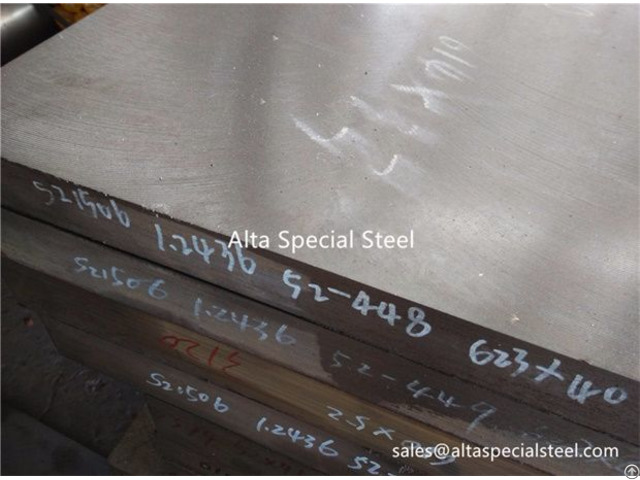 Din 1 2436 Aisi D6 Cold Work Tool Steel