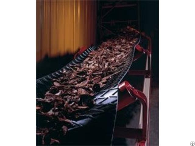 Goodyear Lightweight Conveyor Belt Wood Products Conveying